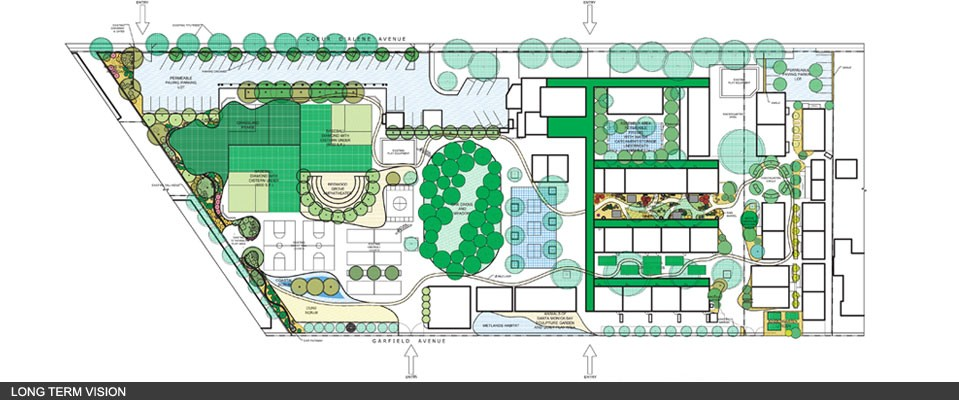 Coeur D Alene Rain Garden Watershed Education Duvivier Architects
